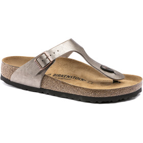 Birkenstock Gizeh Flips Birko-Flor Regular Women, graceful taupe